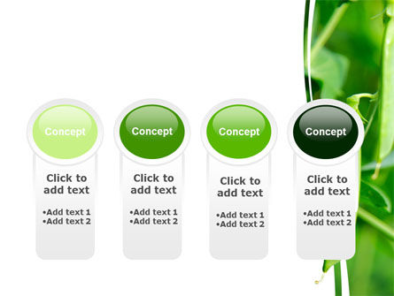 Pea Pods PowerPoint Template Slide 5