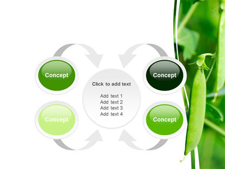 Pea Pods PowerPoint Template Slide 6