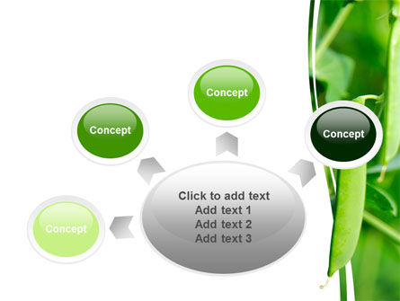 Pea Pods PowerPoint Template Slide 7