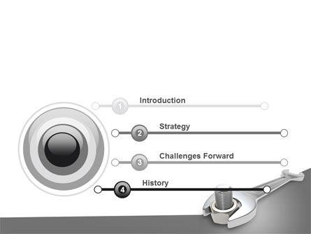 Wrench PowerPoint Template, Slide 3, 07182, Utilities/Industrial — PoweredTemplate.com