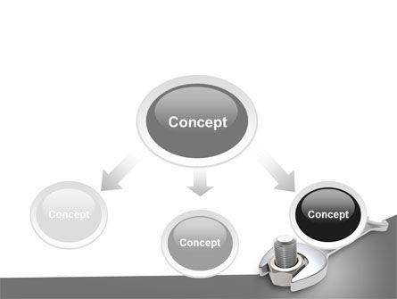 Wrench PowerPoint Template, Slide 4, 07182, Utilities/Industrial — PoweredTemplate.com