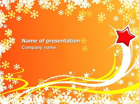 Shiny Theme PowerPoint Template, 07183, Holiday/Special Occasion — PoweredTemplate.com