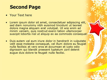 Shiny Theme PowerPoint Template, Slide 2, 07183, Holiday/Special Occasion — PoweredTemplate.com