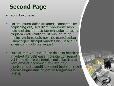 Laboratory Tests PowerPoint Template, Slide 2, 07186, Technology and Science — PoweredTemplate.com