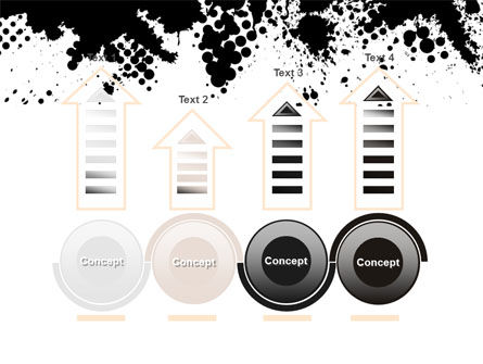 Black Splash PowerPoint Template Slide 7