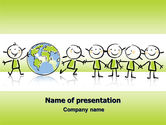 Education & Training: Kiddy Theme PowerPoint Template #07189