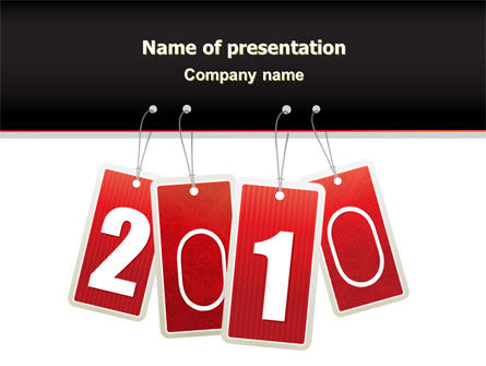 Year 2010 Theme PowerPoint Template