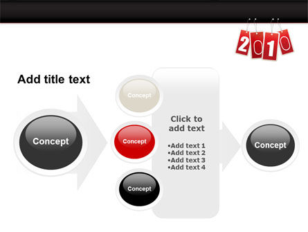 Year 2010 Theme PowerPoint Template Slide 17