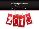 Holiday/Special Occasion: Year 2010 Theme PowerPoint Template #07193