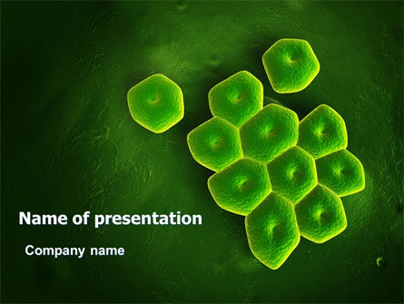 Technology and Science: Acinetobacter PowerPoint Template #07195