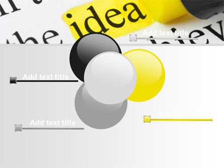 Highlighted Idea PowerPoint Template Slide 10