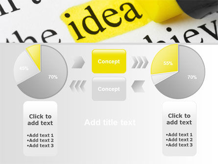 Highlighted Idea PowerPoint Template Slide 11