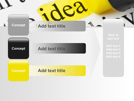 Highlighted Idea PowerPoint Template Slide 12