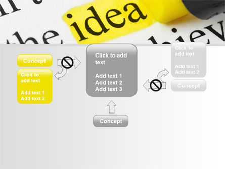 Highlighted Idea PowerPoint Template Slide 13