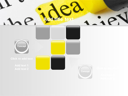 Highlighted Idea PowerPoint Template Slide 16