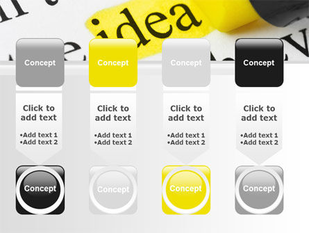 Highlighted Idea PowerPoint Template Slide 18