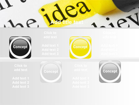 Highlighted Idea PowerPoint Template Slide 19