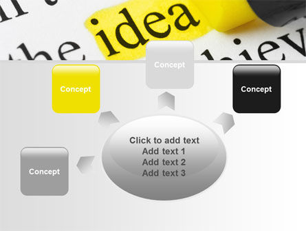 Highlighted Idea PowerPoint Template Slide 7