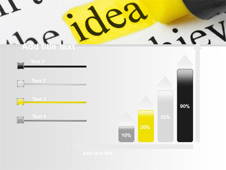 Highlighted Idea PowerPoint Template Slide 8