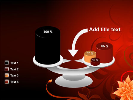 Blooming Vinous Theme PowerPoint Template Slide 10