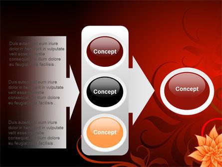 Blooming Vinous Theme PowerPoint Template Slide 11