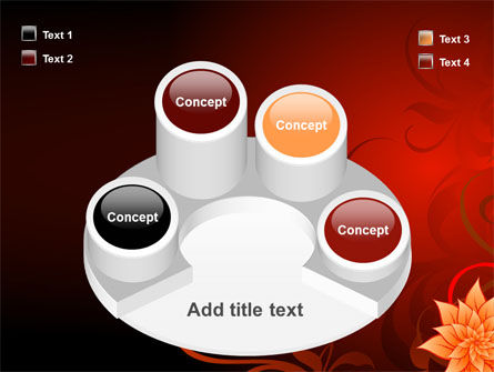 Blooming Vinous Theme PowerPoint Template Slide 12