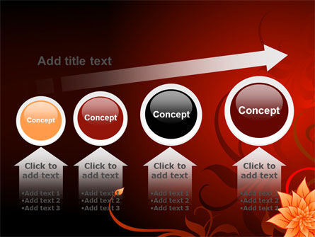 Blooming Vinous Theme PowerPoint Template Slide 13