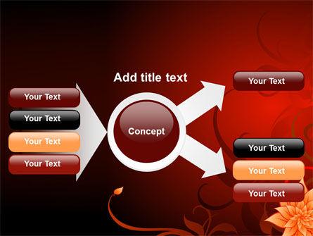 Blooming Vinous Theme PowerPoint Template Slide 14