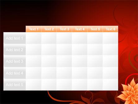 Blooming Vinous Theme PowerPoint Template Slide 15