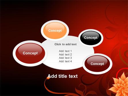 Blooming Vinous Theme PowerPoint Template Slide 16