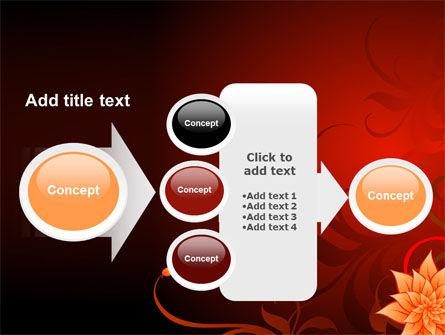 Blooming Vinous Theme PowerPoint Template Slide 17