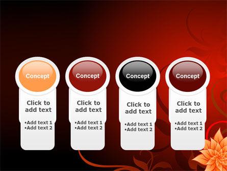 Blooming Vinous Theme PowerPoint Template Slide 5