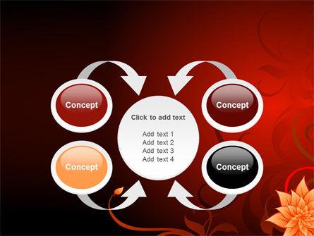 Blooming Vinous Theme PowerPoint Template Slide 6