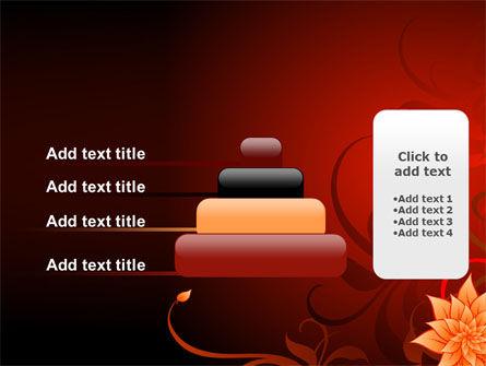 Blooming Vinous Theme PowerPoint Template Slide 8