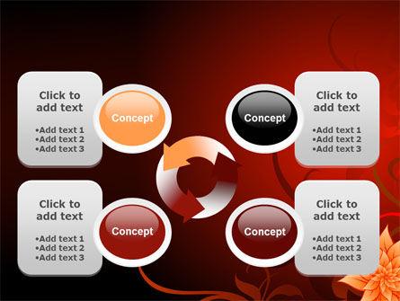 Blooming Vinous Theme PowerPoint Template Slide 9
