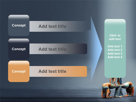 Acrobats PowerPoint Template Slide 12