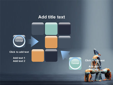 Acrobats PowerPoint Template Slide 16