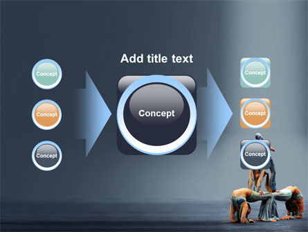 Acrobats PowerPoint Template Slide 17