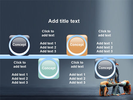 Acrobats PowerPoint Template Slide 19
