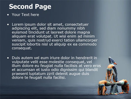 Acrobats PowerPoint Template Slide 2