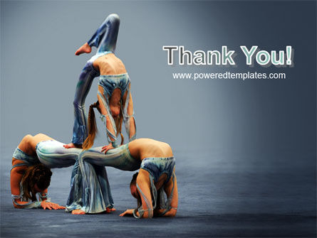 Acrobats PowerPoint Template Slide 20