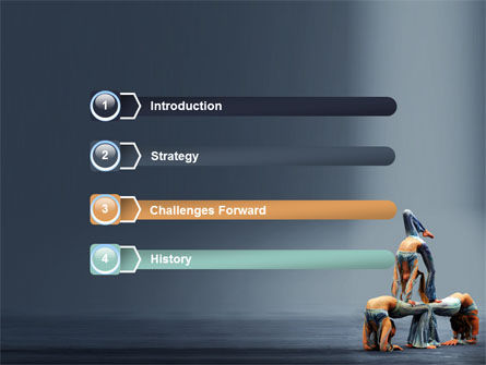 Acrobats PowerPoint Template Slide 3