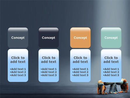 Acrobats PowerPoint Template Slide 5