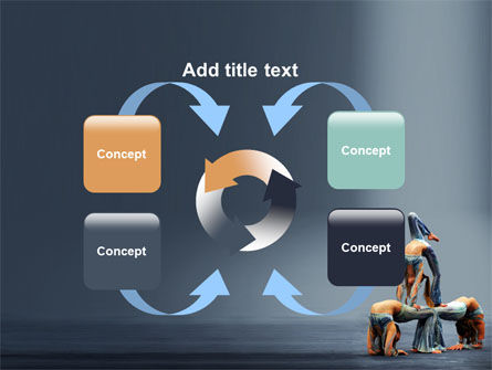 Acrobats PowerPoint Template Slide 6