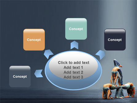 Acrobats PowerPoint Template Slide 7