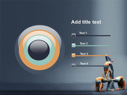 Acrobats PowerPoint Template Slide 9