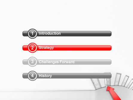 Showing Way Out PowerPoint Template, Slide 3, 07200, Consulting — PoweredTemplate.com