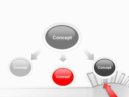 Showing Way Out PowerPoint Template, Slide 4, 07200, Consulting — PoweredTemplate.com
