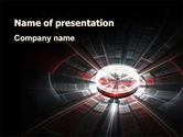 Abstract/Textures: Data Accumulation PowerPoint Template #07203