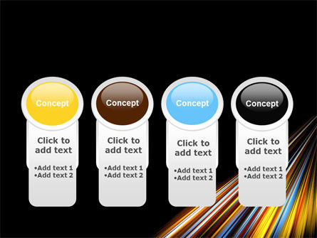 Color Lines PowerPoint Template Slide 5